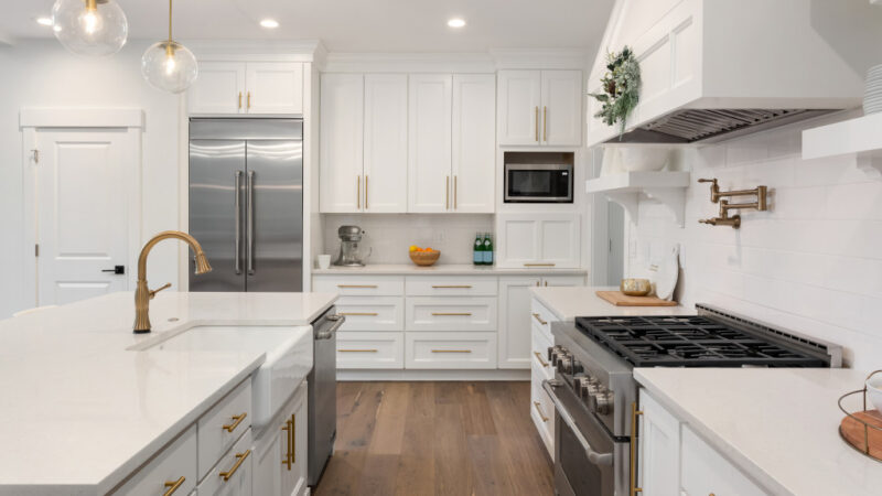 Kitchen of the Month Winner for New Cabinets for September